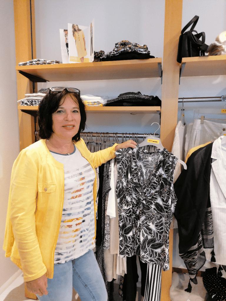 Mode Sabine Lemke im Bekleidungsgeschäft in Winnenden Onlineshop Einkaufen Damenmode