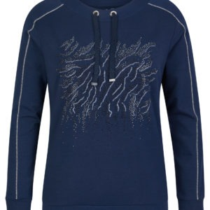 Rabe Sweater in Jeansblau