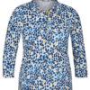 T-Shirt Damenmode Rabemoden Polokragen weiche Baumwolle Mode Sabine Lemke Winnenden im Onlineshop und lokal