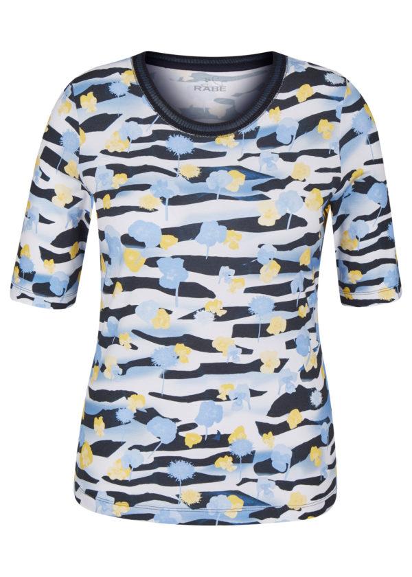 46-121359 Rabe T-Shirt Damenbekleidung bequemes Shirt Mode Sabine Lemke Winnenden