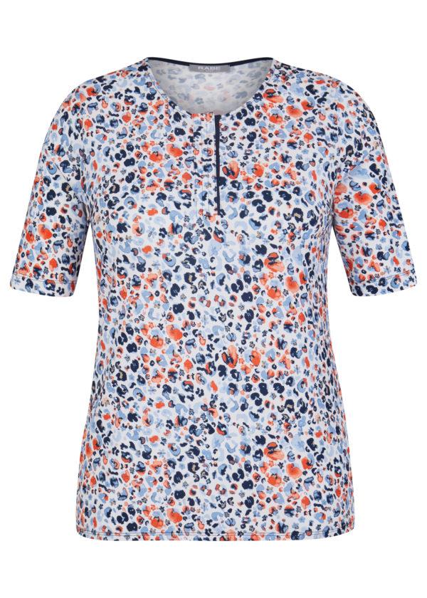 46-021357 Rabe Moden T-Shirt gemustert in Viskosemischung bei Mode Sabine Lemke in Winnenden Damenmode und onlineshop