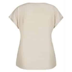 Basic T-Shirt mit Ziernaht von Rabe