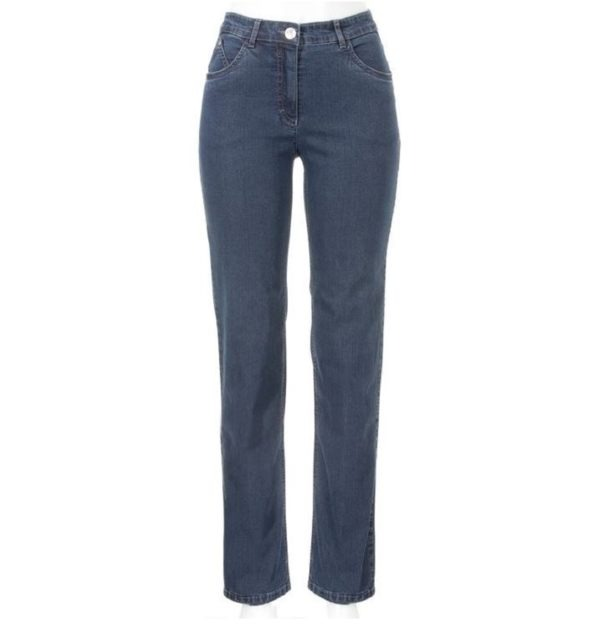 Jeans Ronja 4966 von Stark Hosen gerade geschnittene comfort slim Hose in verschiedenen Blautönen bei Mode Sabine Lemke in Winnenden und im Onlineshop