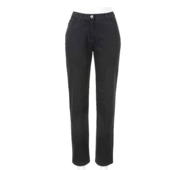 Jeans Ronja 4966 von Stark Hosen gerade geschnittene comfort slim Hose in schwarz bei Mode Sabine Lemke in Winnenden und im Onlineshop