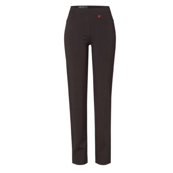 Jerseyhose für die Dame in Dunkelbraun von Relaxed by Toni Dress Artikel Alice 61-68 shoppen bei Mode Sabine Lemke in Winnenden oder im Onlineshop